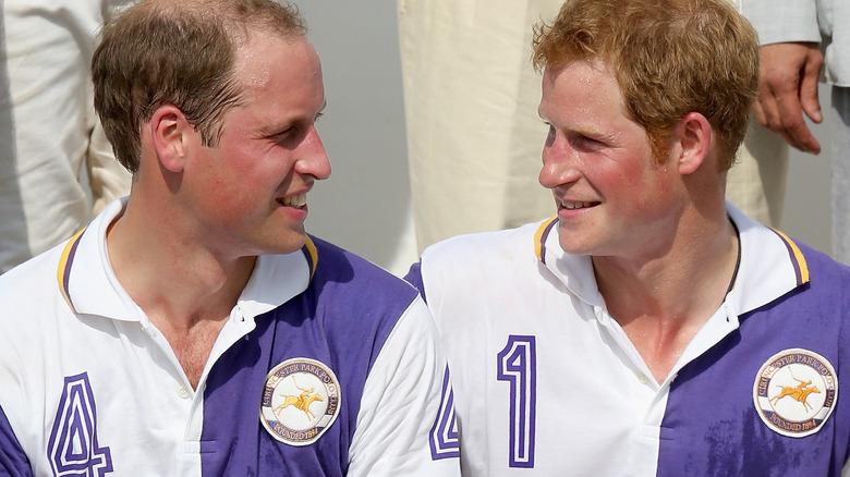 Prins William og prins Harry prater