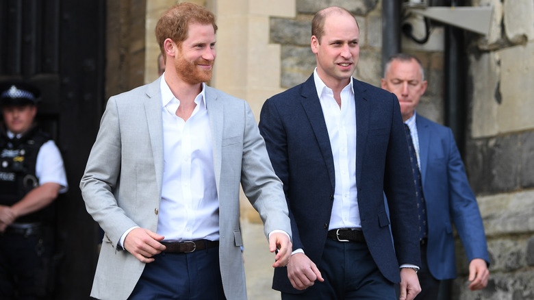 Prins Harry og prins William