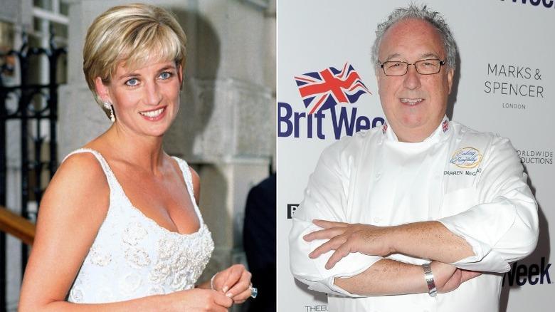 Prinsesse Diana og kokk Darren McGrady