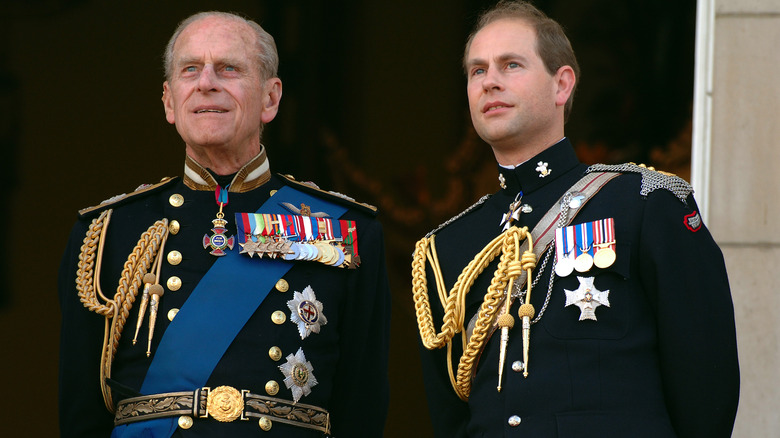 Prins Philip og prins Edward
