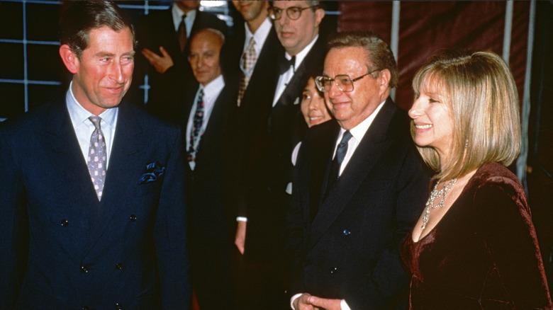 Prins Charles møtte Barbra Streisand 1994