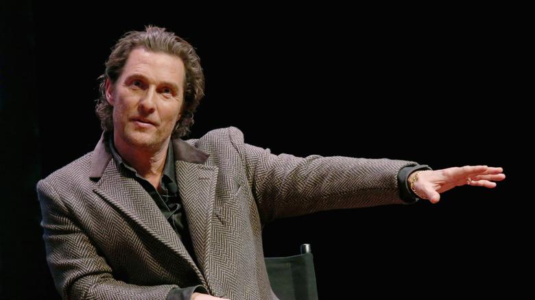 Matthew McConaughey snakker