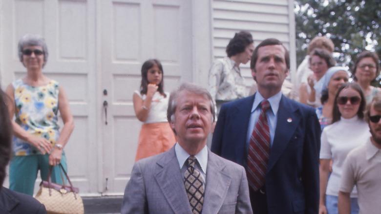 Jimmy Carter forlater kirken