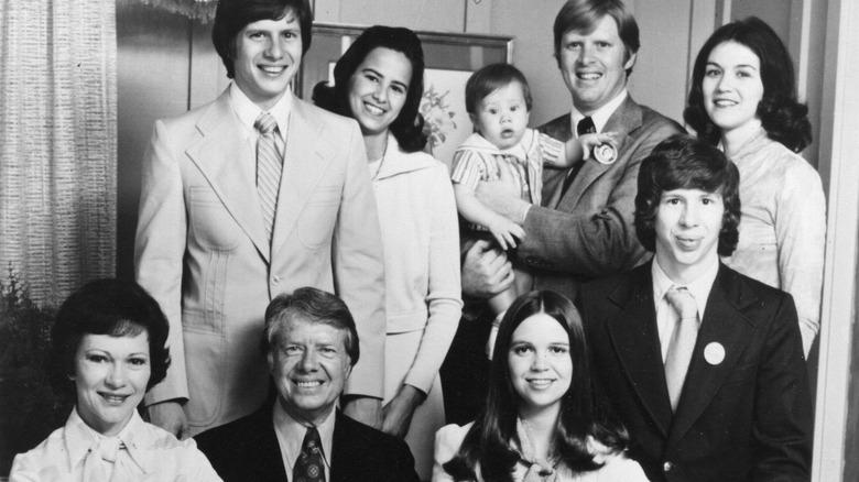Jimmy Carter og familie