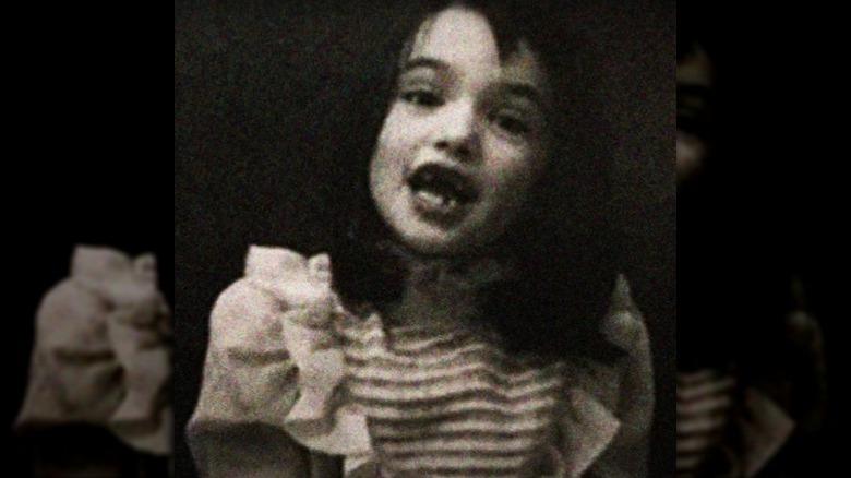 Rachel Weisz som barn