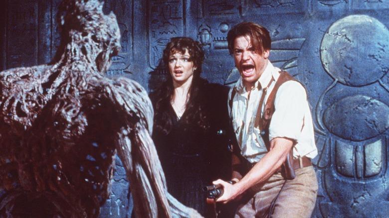 Rachel Weisz og Brendan Fraser i 'The Mummy'.