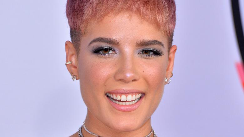 Halsey smiler