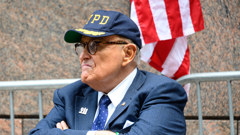 Rudy Giuliani ved en minneseremoni den 11. september