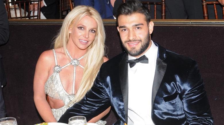 Britney Spears og Sam Asghari