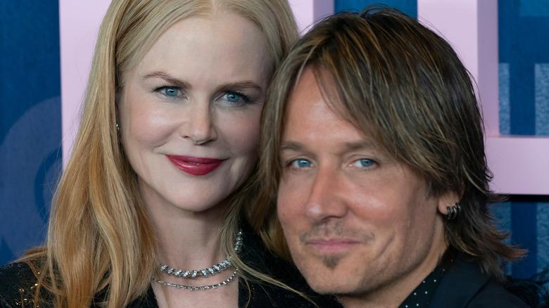 Nicole Kidman og Keith Urban på den røde løperen