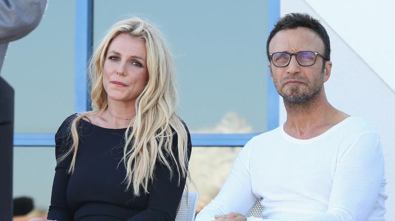 Larry Rudolph og Britney Spears sammen