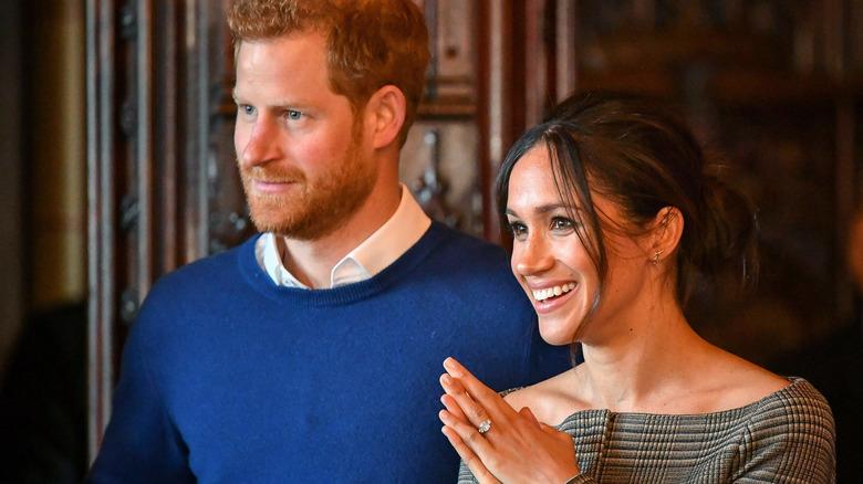 Prins Harry og Meghan Markle