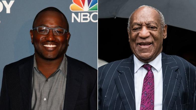 Hannibal Buress smiler, Bill Cosby smiler