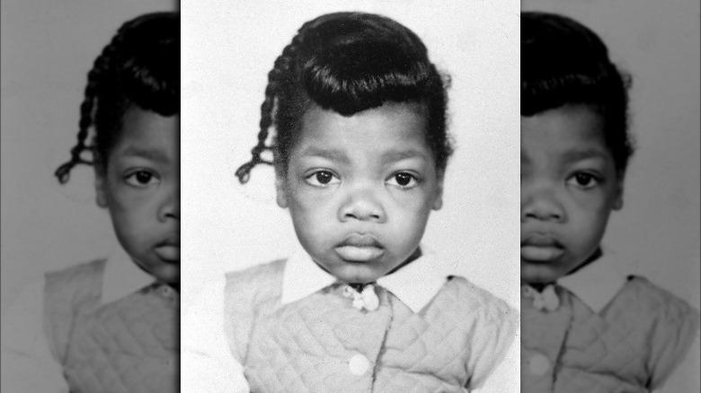 Oprah Winfrey som barn