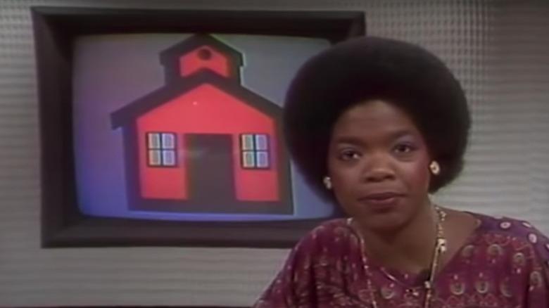 Oprah Winfrey er vert for et show i Baltimore 1978-1981