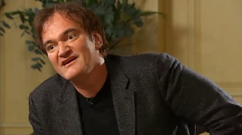 Quentin Tarantino under Krishnan Guru-Murthy-intervjuet