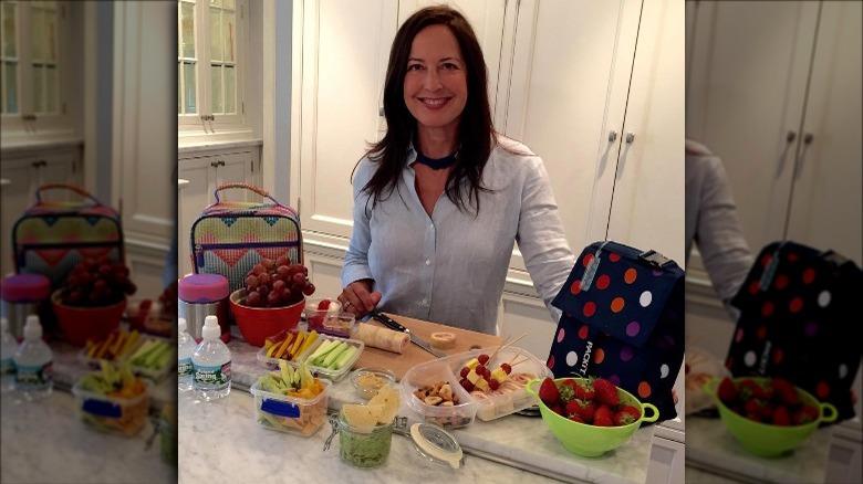 Debra Ponzek forbereder måltider