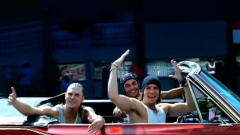 """Kevin Federline i musikkvideoen til """"Get The Party Started"""""""