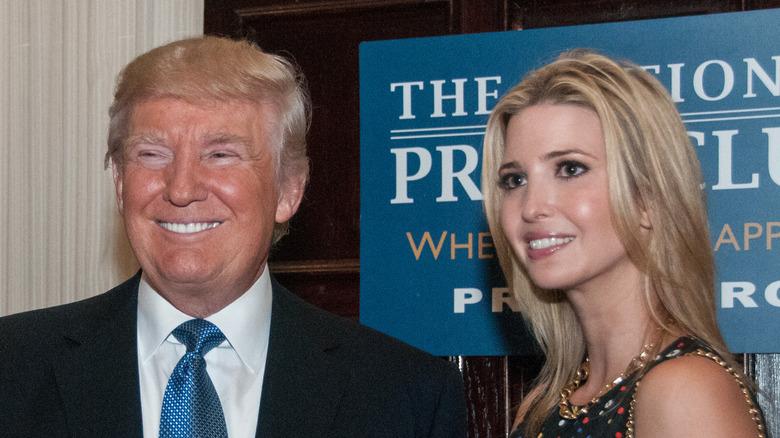 Donald Trump med datteren Ivanka Trump