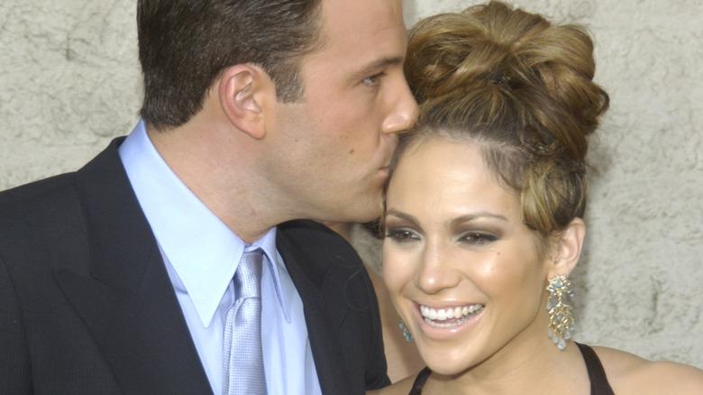 Jennifer Lopez og Ben Affleck på filmpremieren