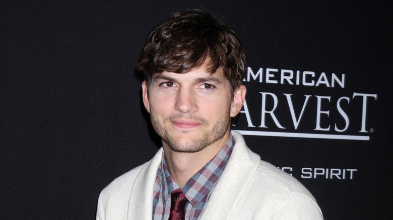 Ashton Kutcher på et arrangement