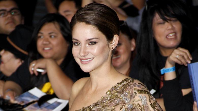 Shailene Woodley smiler