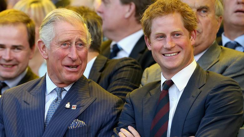 Prins Charles smiler, Prins Harry smiler