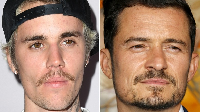 Justin Bieber rynker pannen, Orlando Bloom rynker pannen
