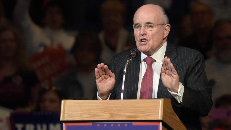 Rudy Giuliani på et arrangement