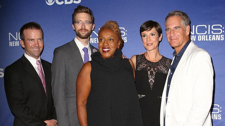 "Lucas Black, Rob Kerkovich, CCH Pounder, Zoe McLellan og Scott Bakula deltar på visningen av ""NCIS: New Orleans"""