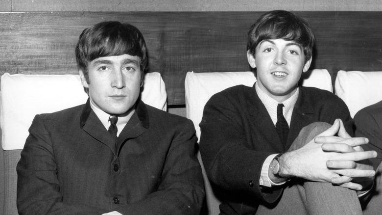 Paul McCartney, John Lennon, London, 1963