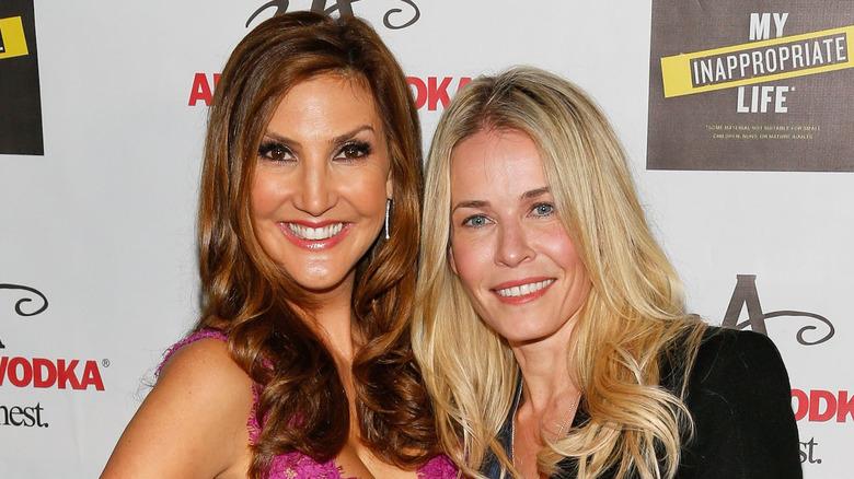 Heather McDonald og Chelsea Handler ved McDonalds boklansering