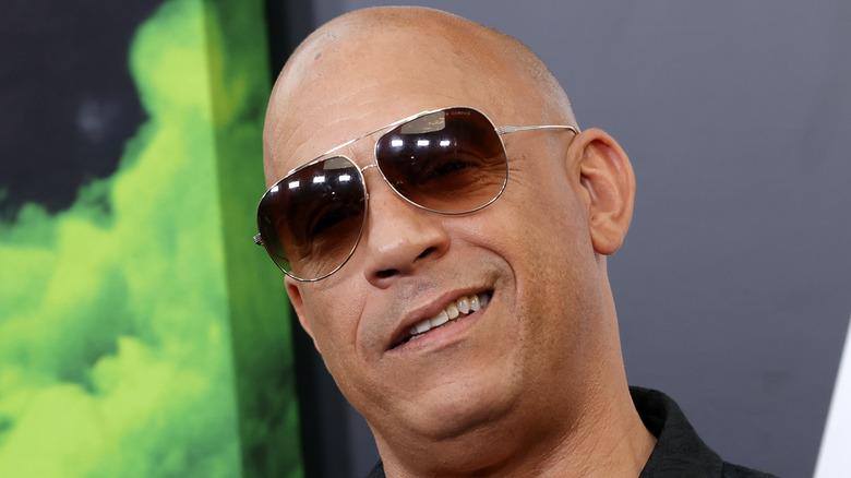 Vin Diesel smiler