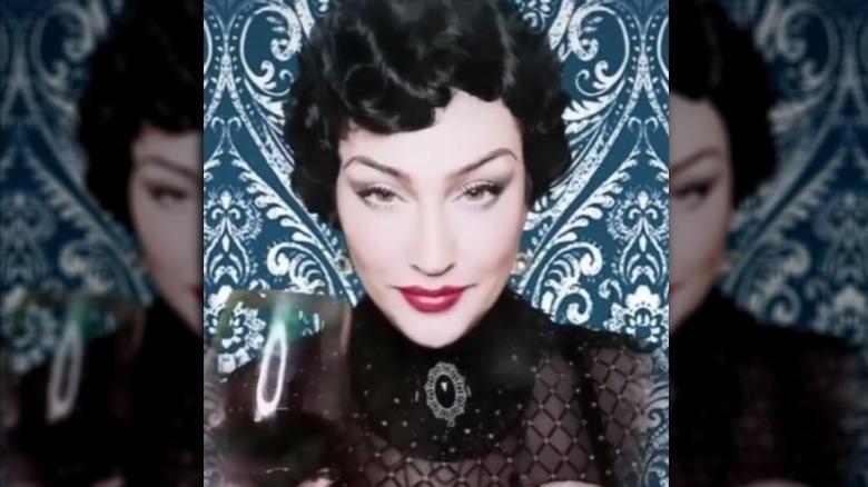 Madonna imitator i en TikTok-video