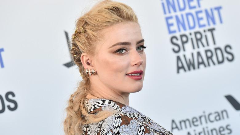 Amber Heard smiler