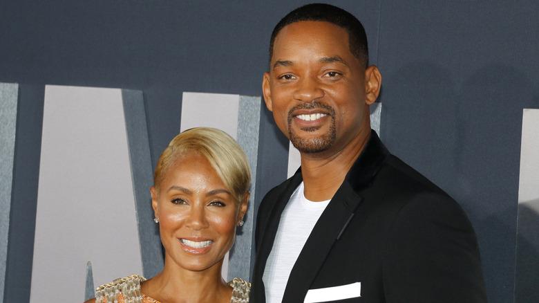 Will og Jada Pinkett Smith smiler