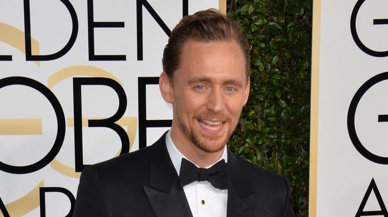 Tom Hiddleston smiler