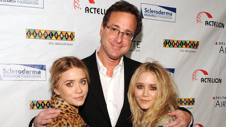 Bob Saget med Olsen-tvillingene