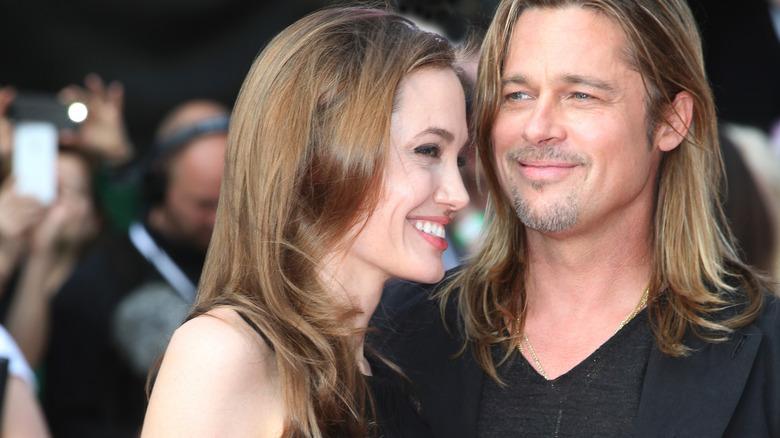Angelina Jolie, Brad Pitt, ler