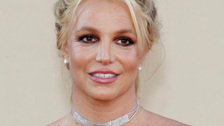 Britney Spears choker
