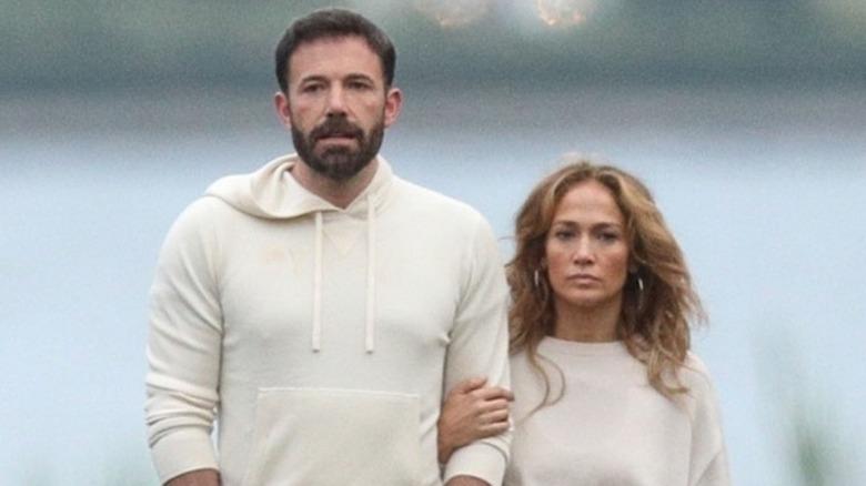 Ben Affleck og Jennifer Lopez går