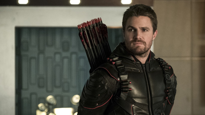 Stephen Amell som Oliver Queen