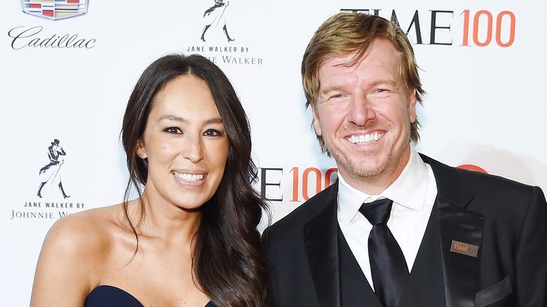 Joanna og Chip Gaines på Time 100 Event