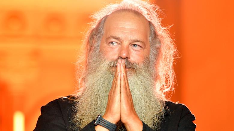 Rick Rubin på scenen ved Genius Awards
