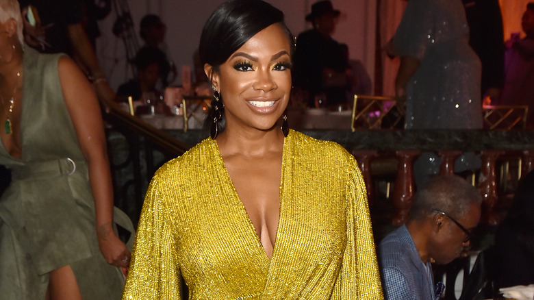 Kandi Burruss deltar på den 13. årlige ESSENCE Black Women i Hollywood Luncheon 2020