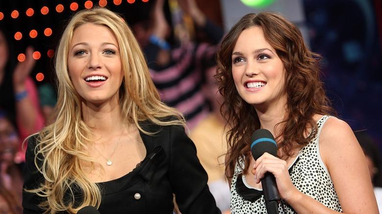 Blake Lively og Leighton Meester i 2007.