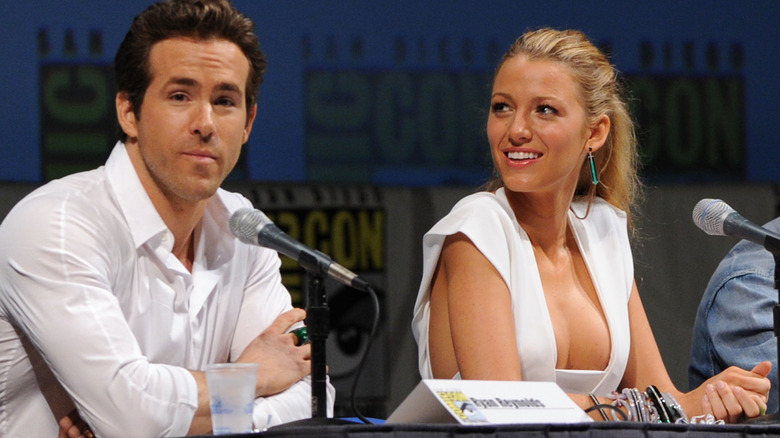 Ryan Reynolds og Blake Lively på 'Green Lantern