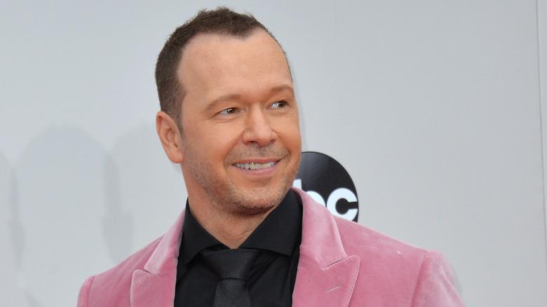 Donnie Wahlberg deltar på American Music Awards 2016