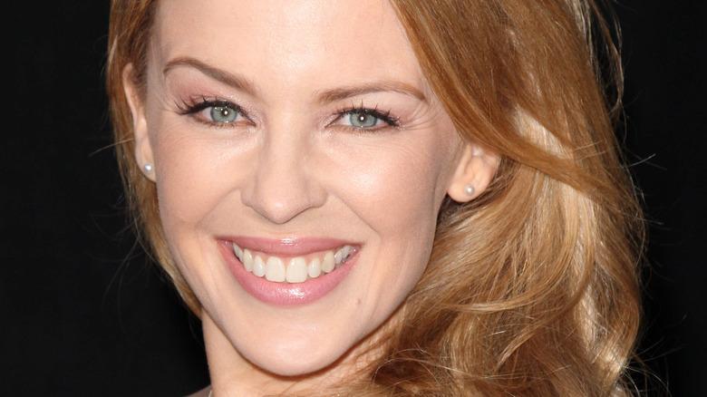 Kylie Minogue smiler
