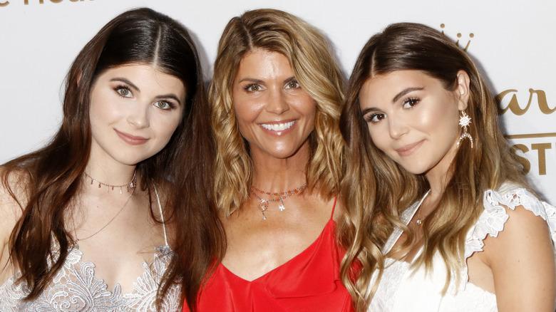 Isabella Rose, Lori Loughlin og Olivia Jade, Beverly Hills, 2017